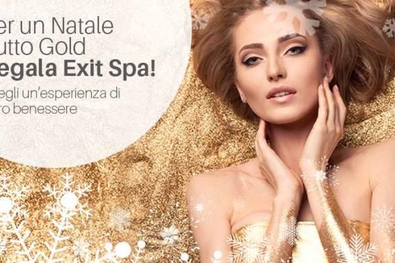 Per un Natale tutto Gold Regala Exit Spa!